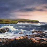 Art 'The Cliffs, from Doolin'