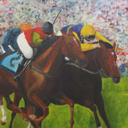 Irish Art, The Final Furlong,