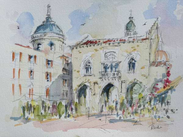 Irish Art - Raymund Walsh - Kildare and Sligo, Ireland