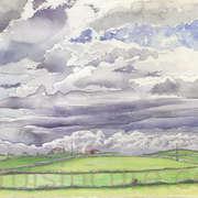 Cloudy sky, Kilcolgan