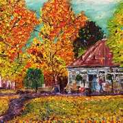 Tea Rooms in Autumn