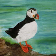 Irish Art, Puffin,