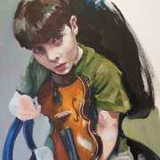 A Boy and His Violin