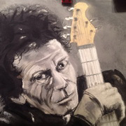 Art 'Keith Richards'