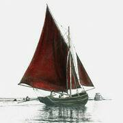 Galway Bay Hooker, early 1900's