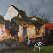 Derelict Thatched Cottage