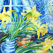 A Bouquet of April Daffodils