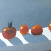 Sunbathing Tomatoes
