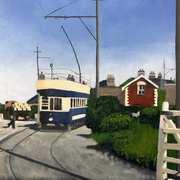 Tram at Sutton