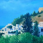 Art 'Greece Lindos'